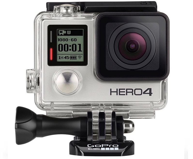 GoPro HERO 4: Silver Edition